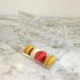 Clear Macaron Blister Box  for 12 Macarons - Pack of 20 Boxes