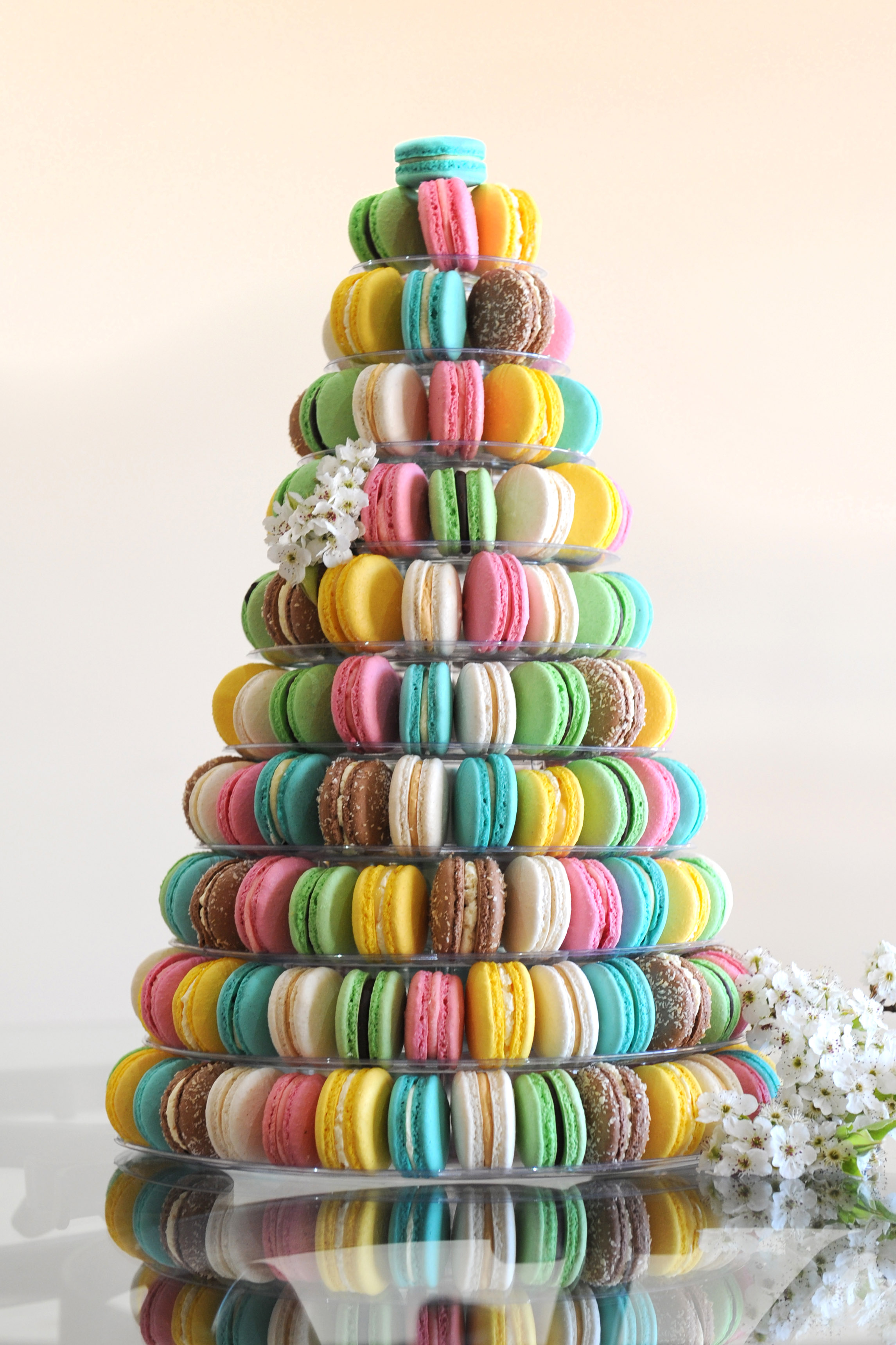 macaroon cake stand - photo #31