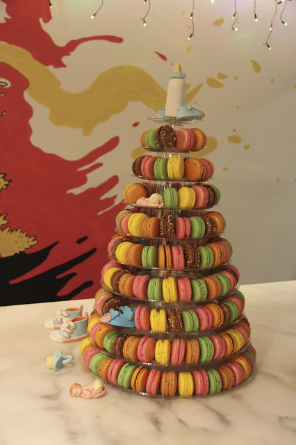 Macaron Stand in USA