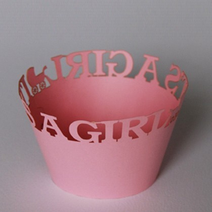 It's a Girl Cupcake Wrappers - 12units/pack