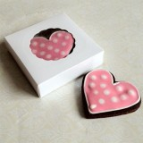 Small White Cookie Box for 1-2 Cookies - ($0.95pc x 25 units)